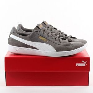 Women's Puma Suede Sneaker Everyday Shoes Gray 10